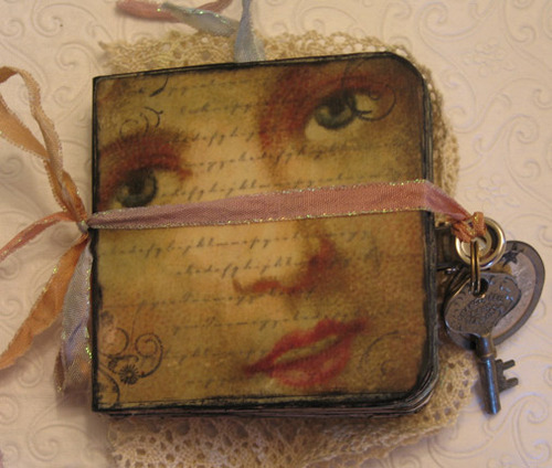 Lesley Venable Altered Book Cover